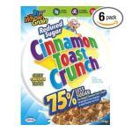 General Mills -  Cinnamon Toast Crunch Reduced Sugar Cereal Box 0016000275775