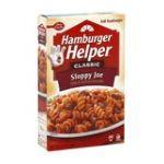 Hamburger Helper - Pasta & Seasoned Sauce Mix Sloppy Joe 0016000277175  / UPC 016000277175