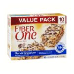 Fiber One - Chewy Bars Oats & Chocolate 0016000281660  / UPC 016000281660