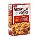 Hamburger Helper - Skillet Meal Bacon Cheeseburger 0016000282018  / UPC 016000282018