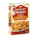 Hamburger Helper - Bacon Cheeseburger Mac 0016000283428  / UPC 016000283428