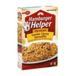 Hamburger Helper - Rice & Sauce Mix 0016000283442  / UPC 016000283442