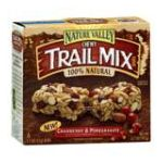 Nature Valley - Chewy Trail Mix Bars Cranberry & Pomegranate 0016000283725  / UPC 016000283725