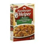 Hamburger Helper - Pasta & Seasoned Sauce Mix 0016000284234  / UPC 016000284234