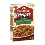 Hamburger Helper - Pasta & Sauce Mix 0016000284241  / UPC 016000284241