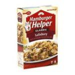 Hamburger Helper - Hamburger Helper Classic Salisbury 0016000366305  / UPC 016000366305