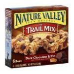 Nature Valley - Granola Bar Chewy Trail Mix Dark Chocolate & Nut 0016000407619  / UPC 016000407619