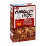 Hamburger Helper - Skillet Meal Cheddar Cheese Melt 0016000408609  / UPC 016000408609