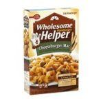 Hamburger Helper - Skillet Meal Cheeseburger Macaroni 0016000411852  / UPC 016000411852