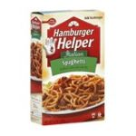 Hamburger Helper - Skillet Meal Home Cooked Spaghetti 0016000413009  / UPC 016000413009