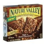 Nature Valley - Crunchy Oats 'n Dark Chocolate Granola Bars 0016000413146  / UPC 016000413146