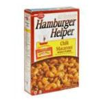 Hamburger Helper - Skillet Meal Home Cooked Chili Macaroni 0016000414006  / UPC 016000414006