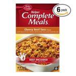 General Mills -  Betty Crocker Helper Cheesy Beef Taco Boxes 0016000419650