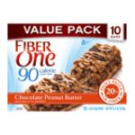 Fiber One - Chocolate Peanut Butter Chewy Bars 0016000420250  / UPC 016000420250
