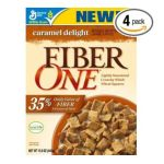 Fiber One - Caramel Delight Cereal Boxes 0016000421325  / UPC 016000421325