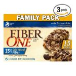 Fiber One - Chewy Bars Oats And Chocolate Boxes 0016000423657  / UPC 016000423657