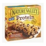 Nature Valley - Protein Chewy Bar Peanut Butter & Dark Chocolate 0016000457232  / UPC 016000457232