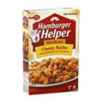 Hamburger Helper - Skillet Meal Home Cooked Cheesy Nacho 0016000470507  / UPC 016000470507