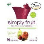 General Mills -  Fruit Roll-ups Simply Fruit Rolls Wildberry 0016000480612