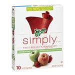 General Mills -  Fruit Rolls Strawberry 0016000480759