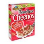 Cheerios - Cereal Berry Burst 0016000653702  / UPC 016000653702