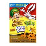 General Mills -  Lucky Charms Cocoa Puffs And Trix Three Bag 38.5 Total Ounce Value Box 0016000854307