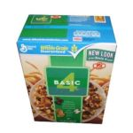 General Mills -  Basic 4 Cereal Whole Grain 32 Total Ounce Value Box 0016000878303