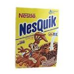 Nesquik - Chocolatey Rice & Corn Puff Cereal 0016000936904  / UPC 016000936904