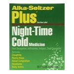 Alka-seltzer - Night-time Cold Medicine 20 tablet 0016500043171  / UPC 016500043171