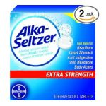 Alka-seltzer - Antacid & Pain Relief Medicine 12 tablet 0016500044024  / UPC 016500044024