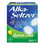 Alka-seltzer - Antacid & Pain Relief Medicine Lemon-lime 36 0016500048060  / UPC 016500048060