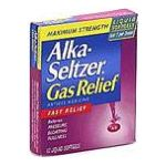 Alka-seltzer - Gas Relief 12 softgels 0016500062011  / UPC 016500062011