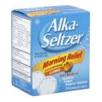 Alka-seltzer - Pain Reliever Alertness Aid 24 tablet 0016500503385  / UPC 016500503385