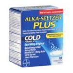 Alka-seltzer - Cold Formula 20 tablet 0016500505860  / UPC 016500505860