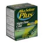 Alka-seltzer - Night-time Cold 20 tablet 0016500505907  / UPC 016500505907