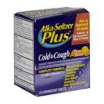 Alka-seltzer - Cold & Cough 20 tablet 0016500505921  / UPC 016500505921