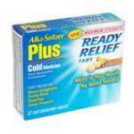 Alka-seltzer -  Cold Medicine 12 tablet 0016500514879
