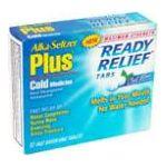 Alka-seltzer - Cold Medicine 12 tablet 0016500514886  / UPC 016500514886
