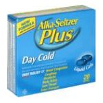 Alka-seltzer - Day Cold 20 softgels 0016500522935  / UPC 016500522935