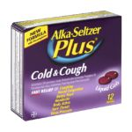 Alka-seltzer - Cold & Cough 12 softgels 0016500522942  / UPC 016500522942