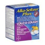 Alka-seltzer -  Cold & Cough Formula Citrus 0016500537601