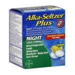 Alka-seltzer - Plus Cold Formula Night Lemon 0016500537618  / UPC 016500537618