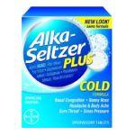 Alka-seltzer -  Cold Formula 0016500537663