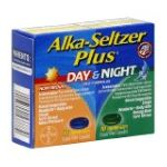 Alka-seltzer - Cold Plus Day Night Liquid Gels 20 liquid gel capsule 0016500537779  / UPC 016500537779