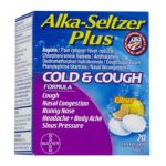 Alka-seltzer - Plus Cold & Cough Formula Liquid Gels 0016500537830  / UPC 016500537830