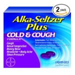 Alka-seltzer - Plus Cold And Cough Liquid Gels 10 liquid gel capsule 0016500542643  / UPC 016500542643