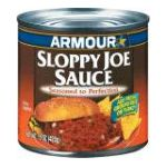 Armour - Sloppy Joe Sauce 0017000007243  / UPC 017000007243