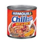 Armour - Hot And Spicy Chili With Beans 0017000007267  / UPC 017000007267