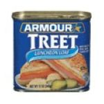 Armour - Treet Luncheon Meat 0017000013237  / UPC 017000013237