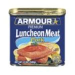 Armour - Armour 100% Pork Premium Luncheon 0017000014241  / UPC 017000014241